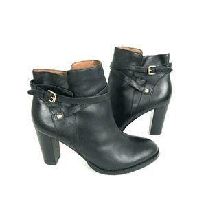 Ivanka Trump 9.5M TARYN Black Leather Ankle Boots